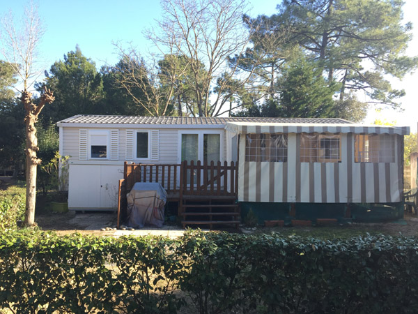 Achat mobil-home d'occasion IRM Apollon Riviera 2013 - Camping Signol