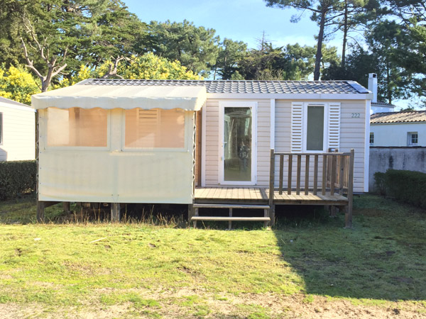 Achat mobil-home d'occasion Super Mercure 2014 - Camping Signol