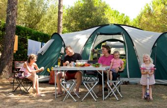 Emplacements camping Les Peupliers