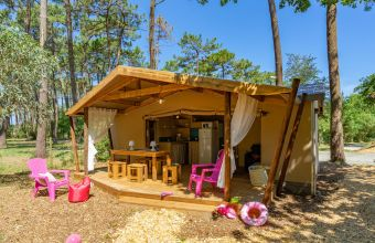 Tente Cotton camping Beau Rivage