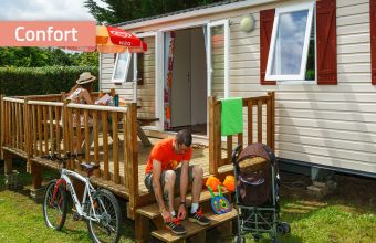 Mobil-home Club camping Le Village Parisien Confort