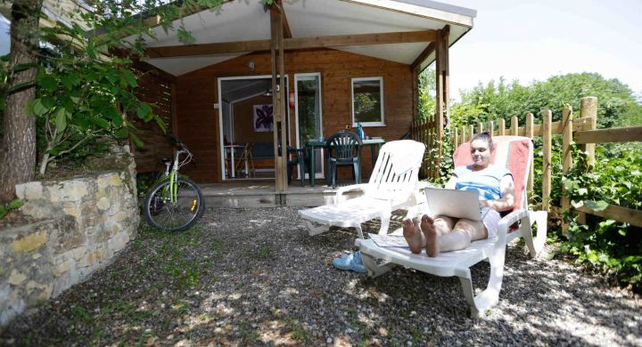 Chalet Ottawa camping Les Granges