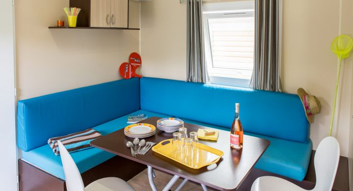 Mobil-home Evasion camping Beau Rivage