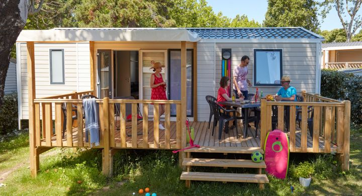 Mobil-home Famille Clim camping Les Granges