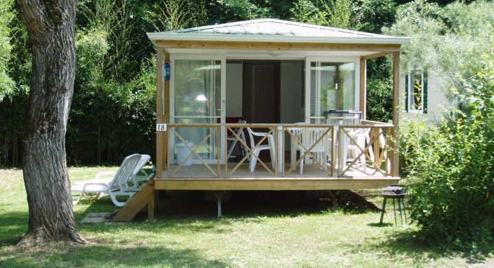 Mobil-home Riviera camping Granges