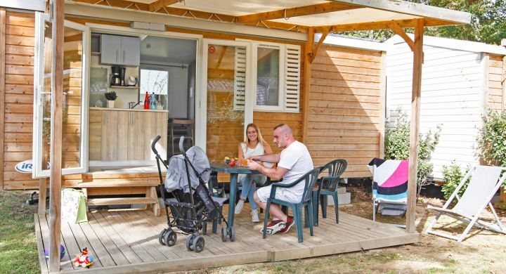 Mobil-home Riviera camping Le Petit Rocher