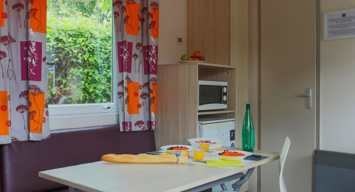Mobil-home Twin camping Le Village Parisien